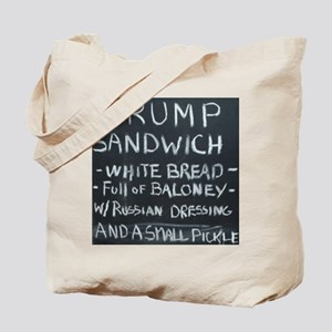 Trump Sandwich Tote Bag