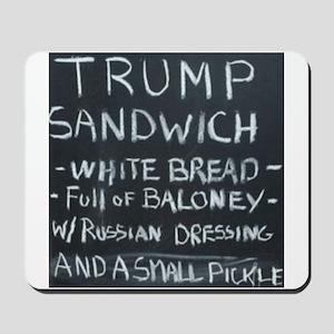 Trump Sandwich Mousepad