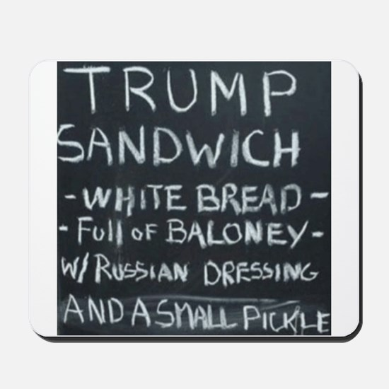 Trump Sandwich Mousepad
