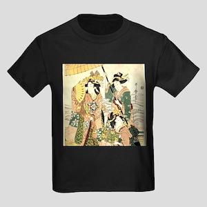 Princess and Maids Ukiyoe T-Shirt