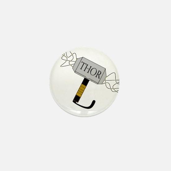 THOR'S Hammer Mini Button