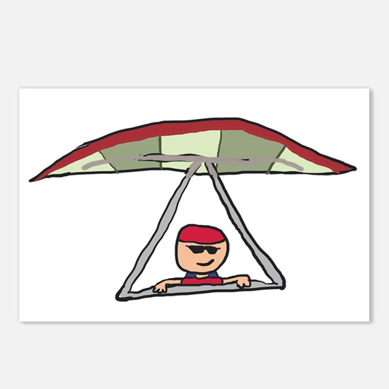 Hang Gliding 2 Postcards (Package of 8)