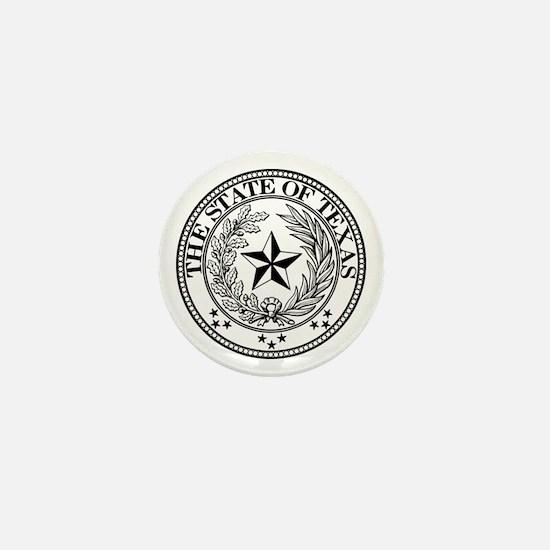 Texas State Seal Mini Button