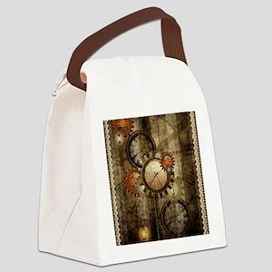 Steampunk, wonderful noble design Canvas Lunch Bag