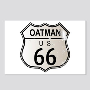 Oatman Route 66 Sign Postcards (Package of 8)