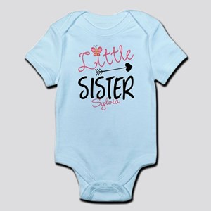 Little Sister Butterfly Personalized Body Suit