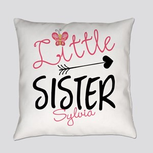 Little Sister Butterfly Personalized Everyday Pill