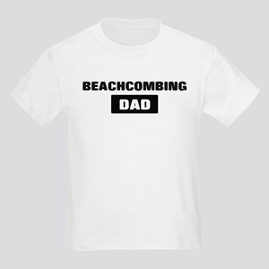 BEACHCOMBING Dad Kids Light T-Shirt