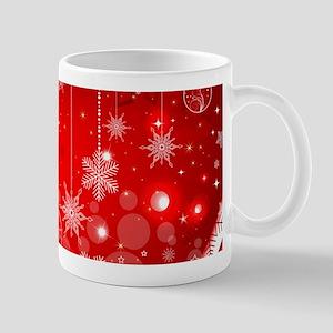 Decorative Christmas Ornamental Snowflakes Mugs