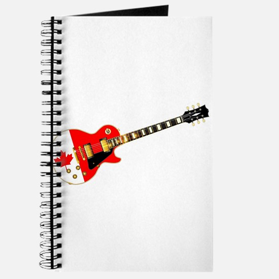 Canadian Flag Guitar Journal