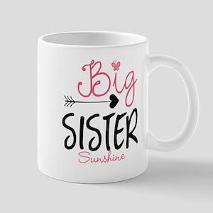 Big Sister Arrow Butterflyl Personalized Mugs