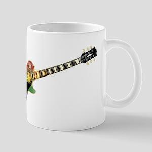 Gay Pride Guitar Mugs