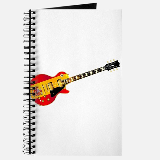 Spanish Flag Guitar Journal