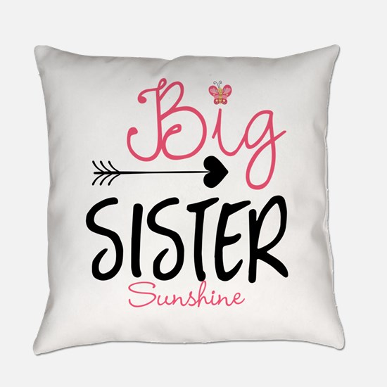 Big Sister Arrow Butterflyl Personalized Everyday