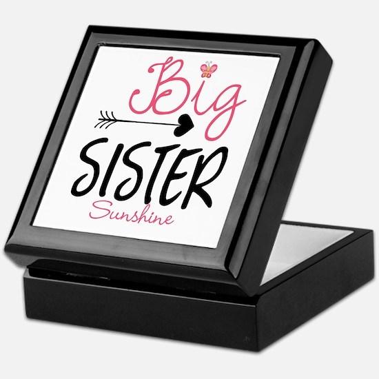 Big Sister Arrow Butterflyl Personalized Keepsake