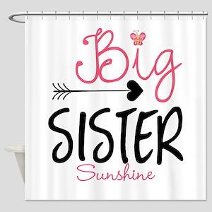 Big Sister Arrow Butterflyl Personalized Shower Cu