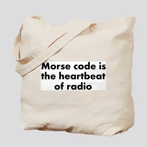 Heartbeat of radio Tote Bag