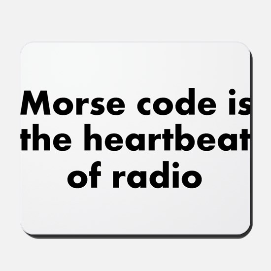 Heartbeat of radio Mousepad