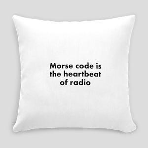 Heartbeat of radio Everyday Pillow