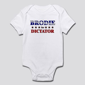 BRODIE for dictator Infant Bodysuit