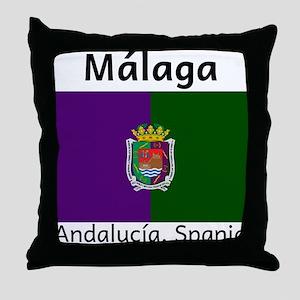 Malaga Throw Pillow