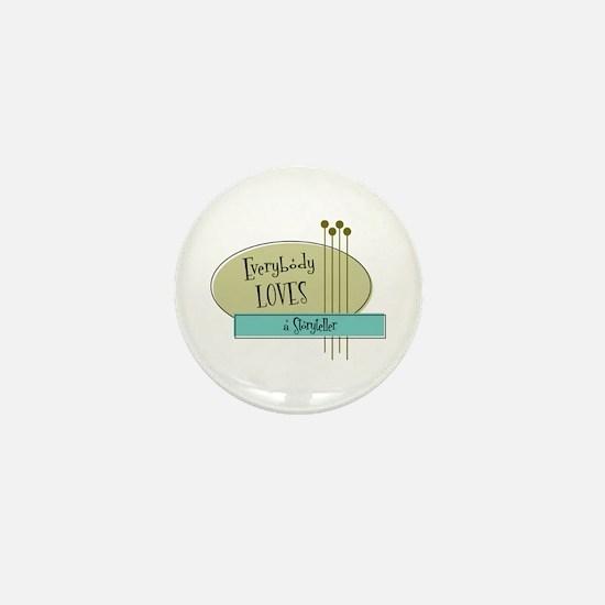 Everybody Loves a Storyteller Mini Button