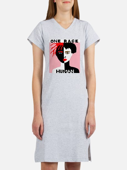 Cute Race Women's Nightshirt