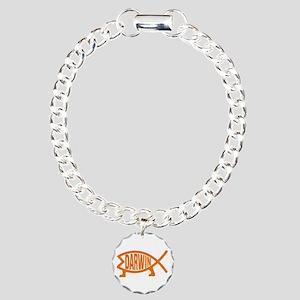 Darwin fish charms cafepress original darwin fish or charm bracelet one charm aloadofball Image collections