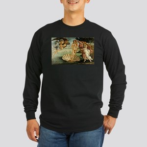 Sandro Botticelli The Birth Of Long Sleeve T-Shirt