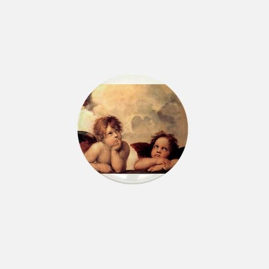 Cherubim - Raphael Mini Button