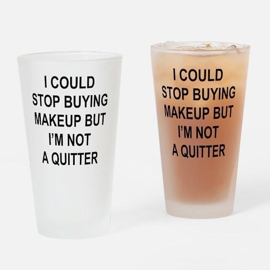 Unique Quit Drinking Glass