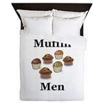 Muffin Men Queen Duvet