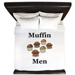 Muffin Men King Duvet