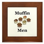 Muffin Men Framed Tile