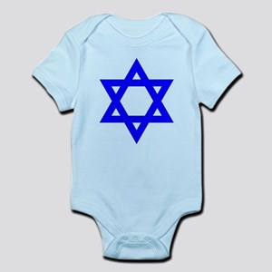 Flag of Israel Body Suit