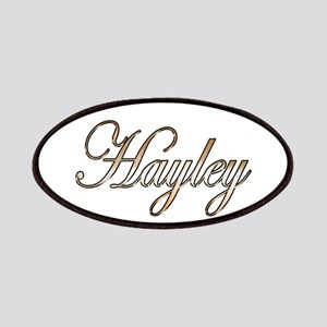Gold Hayley Patch
