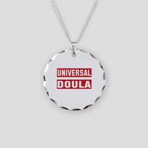 Universal Doula Necklace Circle Charm