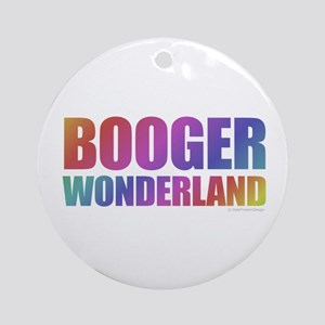 Booger Round Ornament