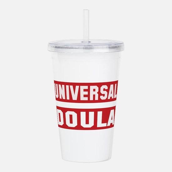 Universal Doula Acrylic Double-wall Tumbler