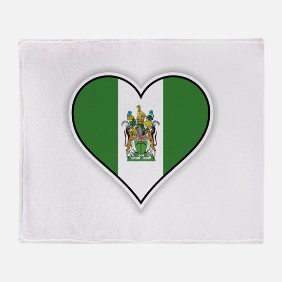 Flag of Rhodesia (1968–1979) Throw Blanket