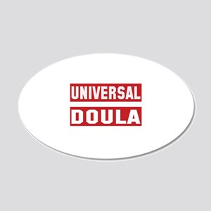 Universal Doula 20x12 Oval Wall Decal