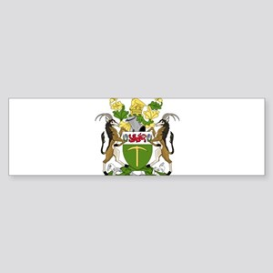 Coat of Arms of Rhodesia Bumper Sticker