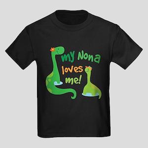 My Nona Loves Me Dinosaur T-Shirt