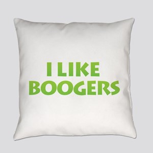 I Like Boogers Everyday Pillow