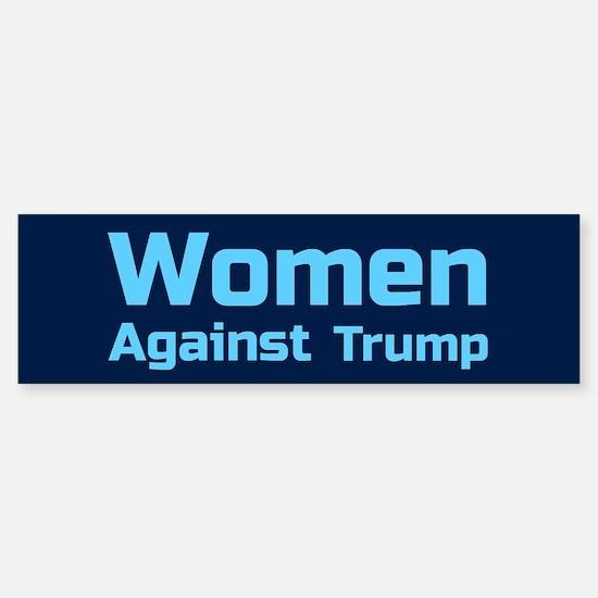 Women Against Trump Bumper Bumper Bumper Sticker