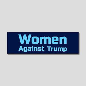 Women Against Trump Car Magnet 10 x 3