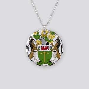 Coat of arms of Rhodesia (19 Necklace Circle Charm