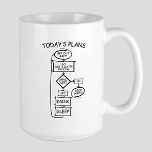 White Water Rafting Humor Flowchart Mugs