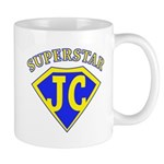 JC superstar in blue Mugs