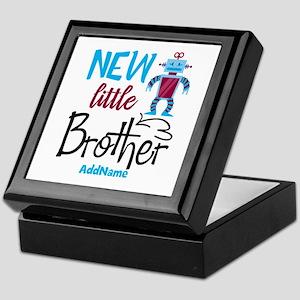Little Brother Robot Personalized Keepsake Box